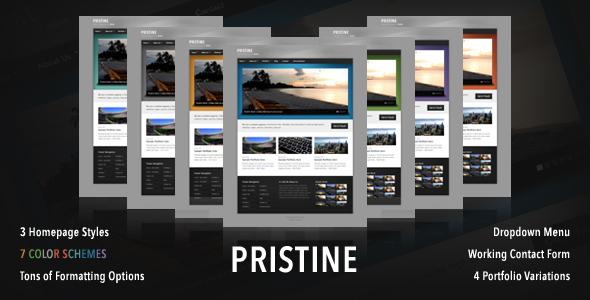 Pristine - Modern Corporate Portfolio