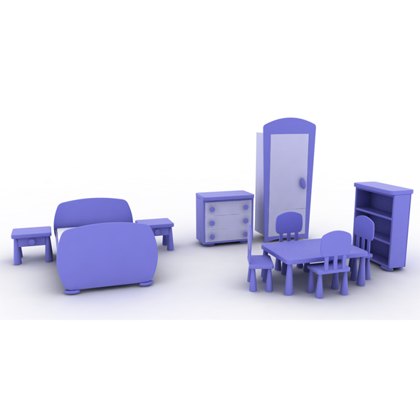 3DOcean Mammut Child Furniture 3D Models -  Furnishings  Furniture 115624