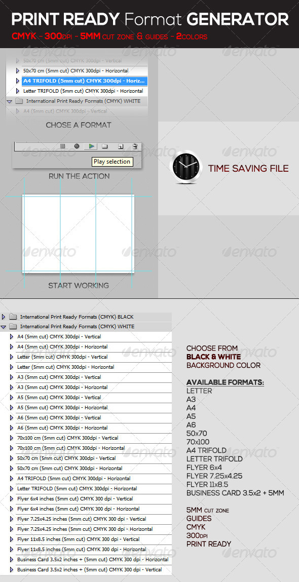 GraphicRiver International Print Ready Format Generator Pack 3251400