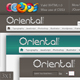 Oriental Modern, A tale of two blogs - ThemeForest Item for Sale