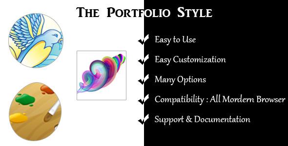 CodeCanyon The Portfolio Style 3215373