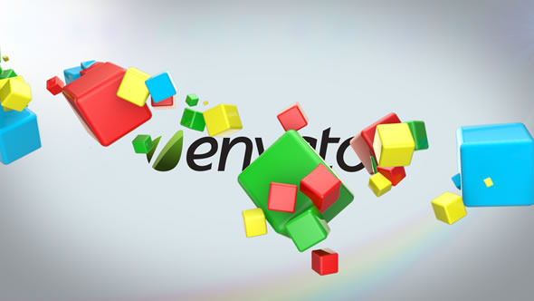 VideoHive Color Boxes Logo Reveal 3254896