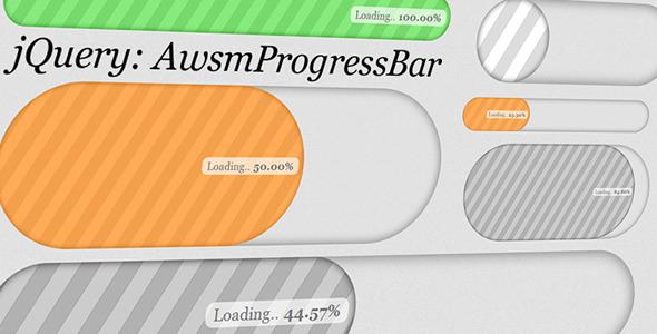 CodeCanyon AwsmProgressBar for jQuery 2598901