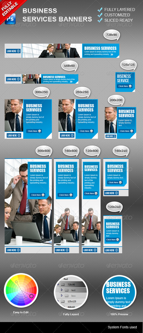 GraphicRiver Business Banners 3278671