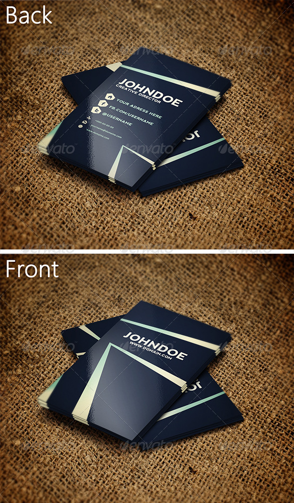 GraphicRiver Creative Business Card 4 3265761