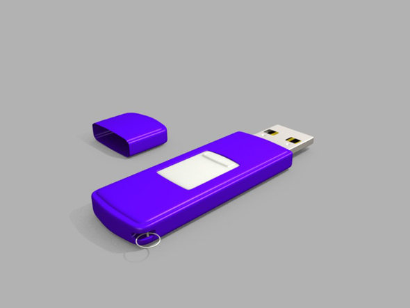 Usb drive - 3DOcean Item for Sale