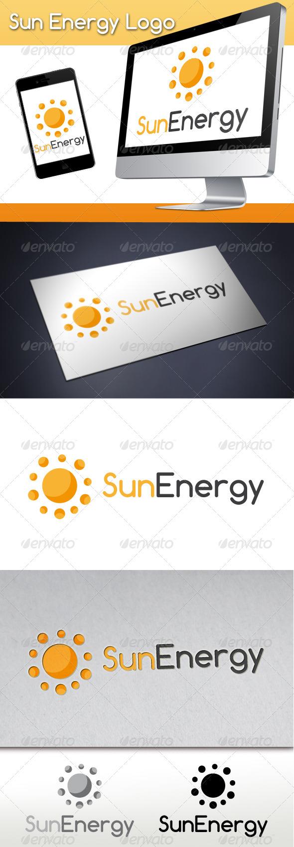 GraphicRiver Sun Energy Logo 3279006