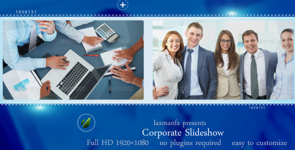 After Effects Project - VideoHive Corporate Slideshow 3279010