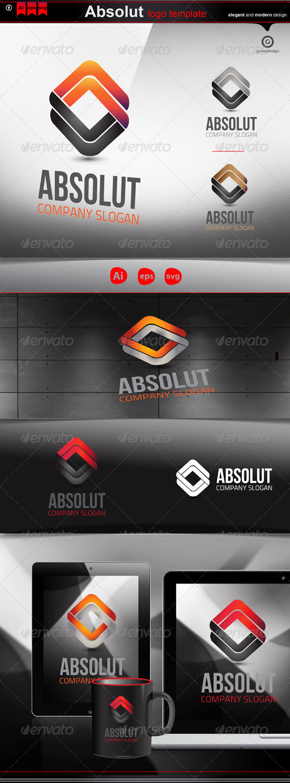 GraphicRiver Absolut 3279034