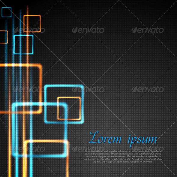 GraphicRiver Abstract technology design Vector 3280676