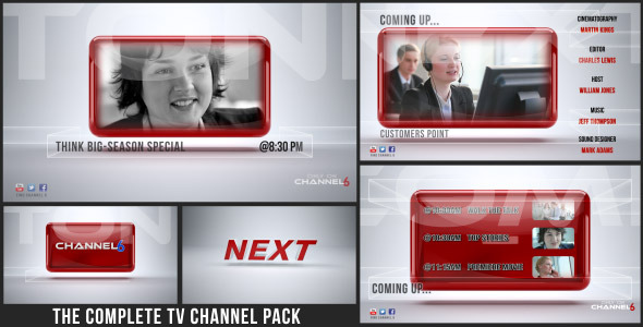 After Effects Project - VideoHive TV Channel Promo Pack 3281367