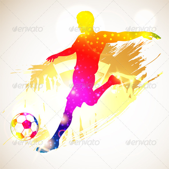 GraphicRiver Soccer Player 3281516
