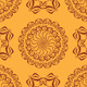 Light and Dark Vintage Seamless Patterns - GraphicRiver Item for Sale