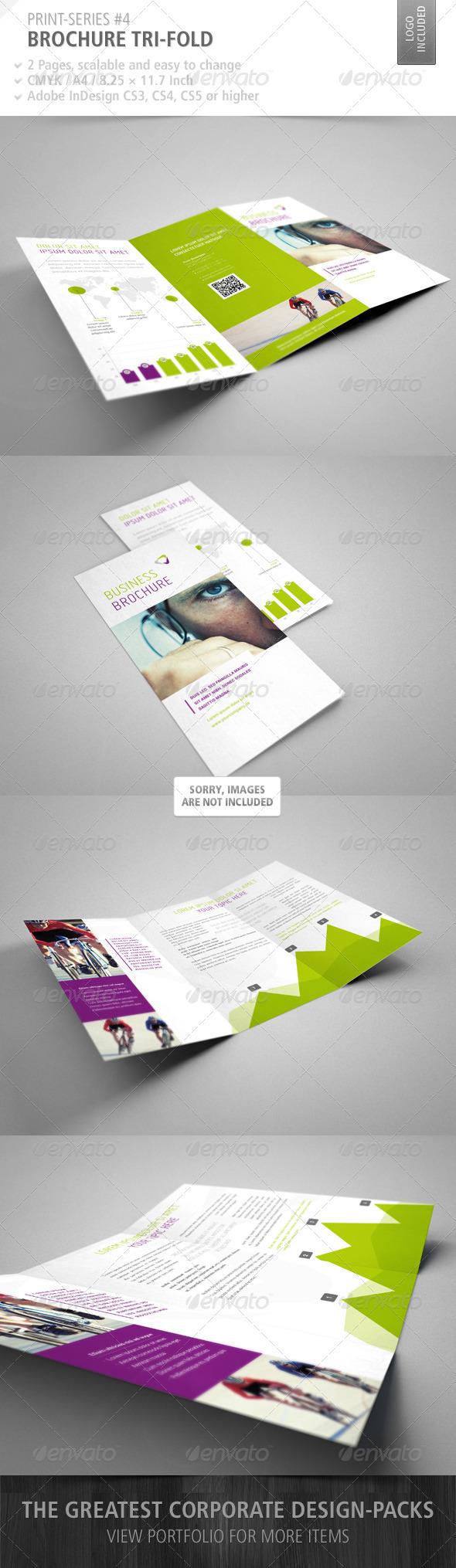 GraphicRiver Brochure Tri-Fold Print-Series #4 3270356
