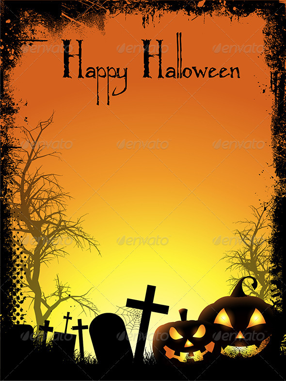 GraphicRiver Halloween background 3281972