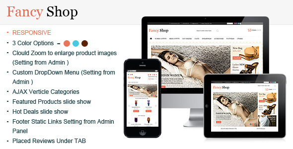 Fancy Shop Magento Template - Magento eCommerce