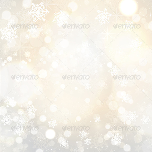 GraphicRiver Snowflakes and stars 3281998