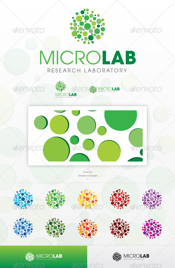 Micro Lab - Abstract Logo Templates