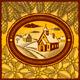 Retro Winter Village - GraphicRiver Item for Sale