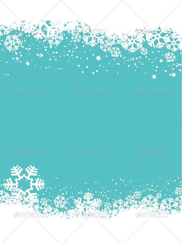 GraphicRiver Christmas snowflakes 3282368