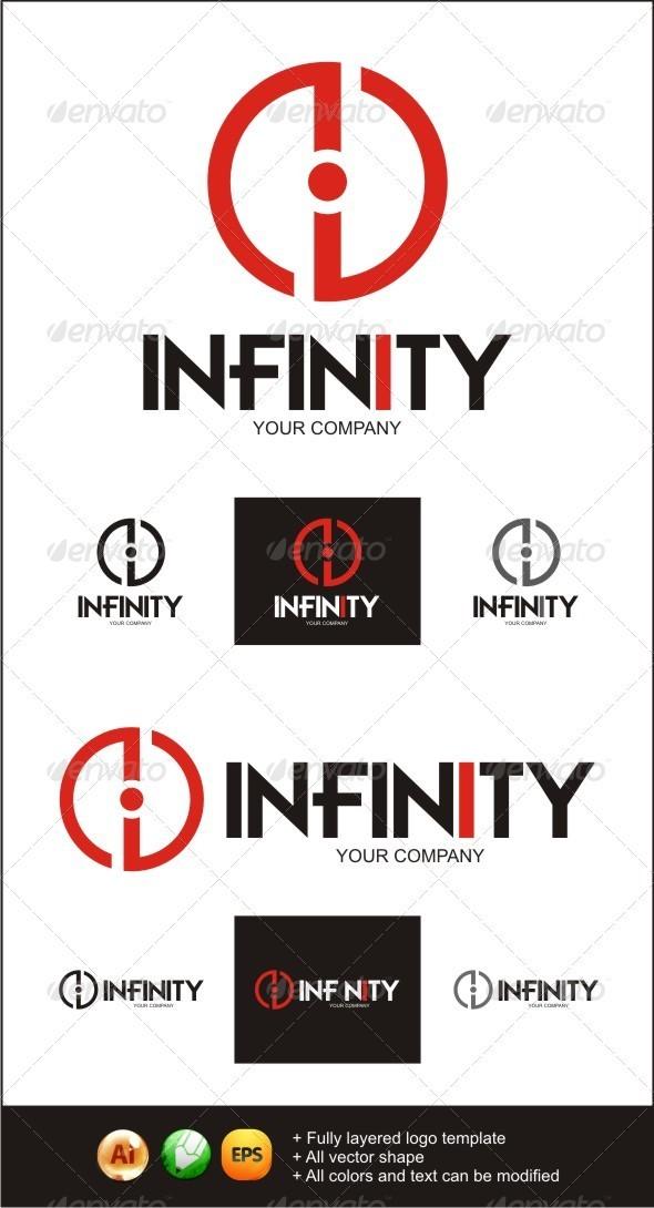 GraphicRiver Infinity i POWER Logo 3267751