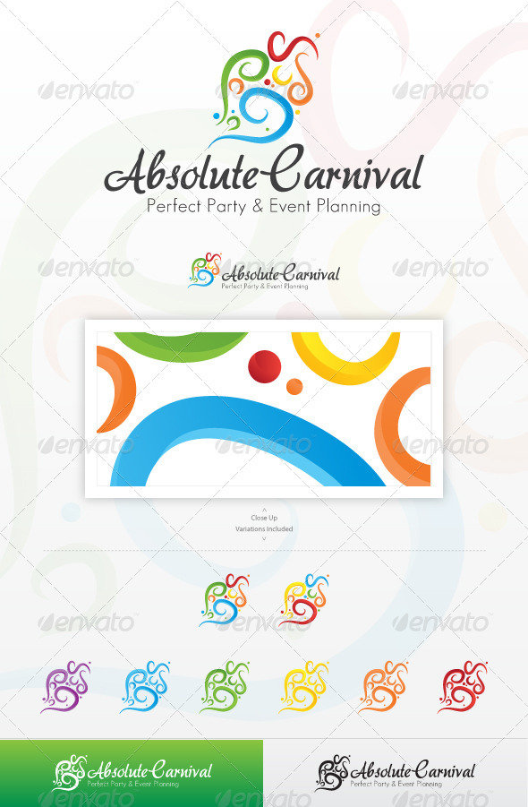 Absolute Carnival - Abstract Logo Templates