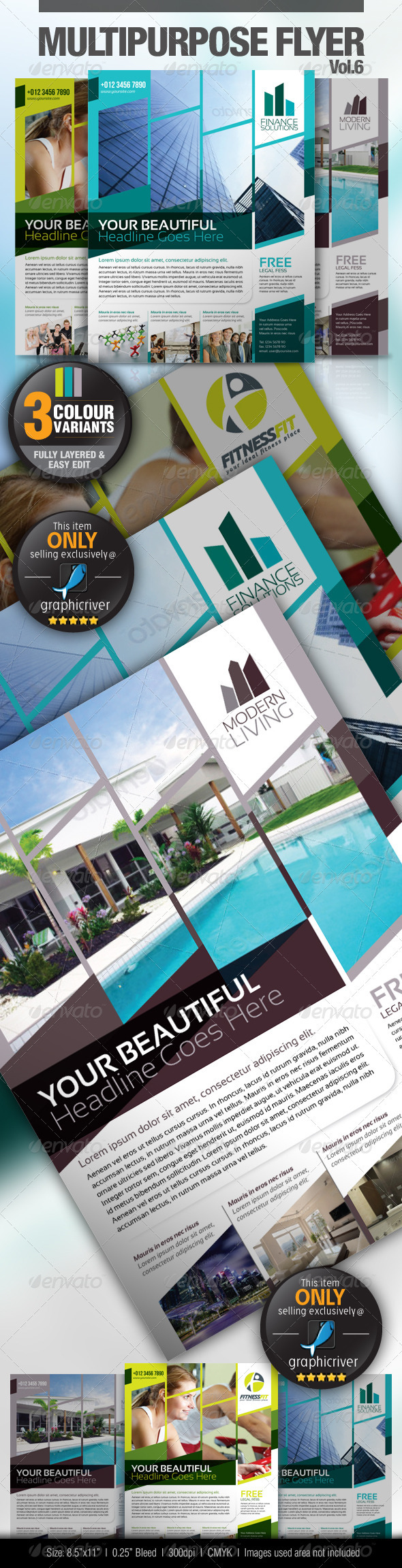 Multipurpose Business Flyer Vol.6 - Miscellaneous Events