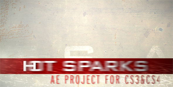 After Effects Project - VideoHive HOT SPARKS 115832