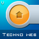 Techno Web Elements - GraphicRiver Item for Sale