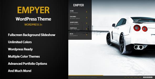 ThemeForest Empyer Premium Photography Theme 3203967