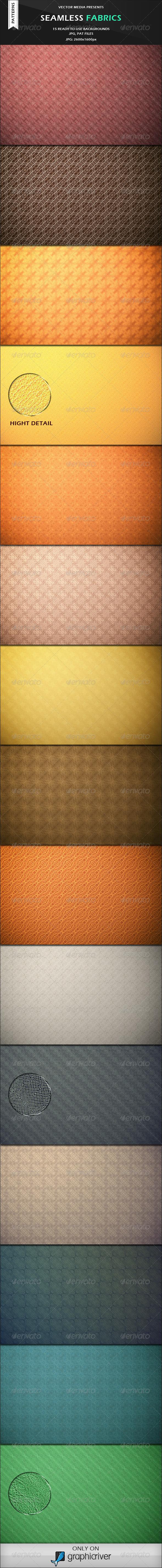 Seamless Fabrics - Photoshop Patterns - Textures / Fills / Patterns Photoshop