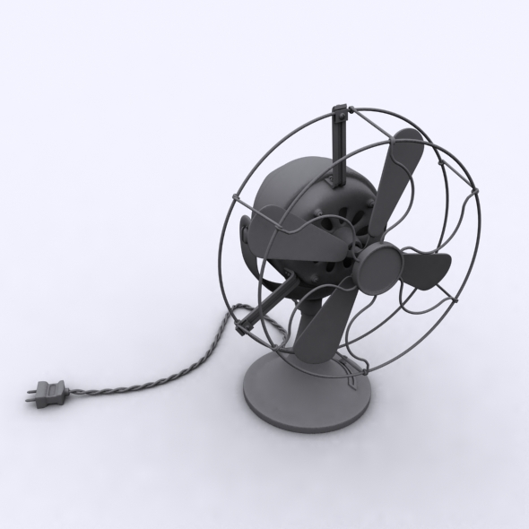 3DOcean Old Fan 115899