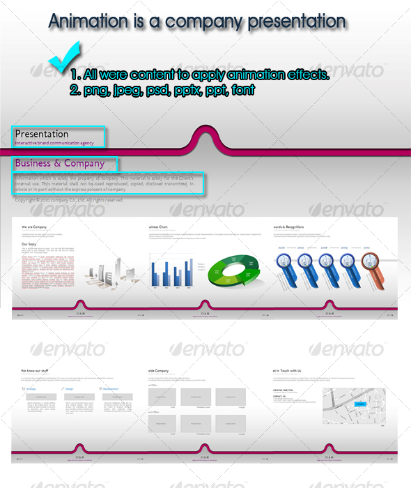 GraphicRiver Animation is a Company Presentation 114405