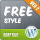 Freestyle Yoga Wordpress Theme - ThemeForest Item for Sale