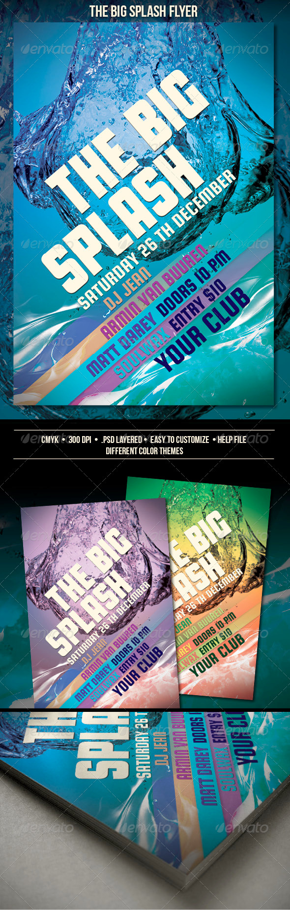 GraphicRiver The Big Splash Flyer 3285283