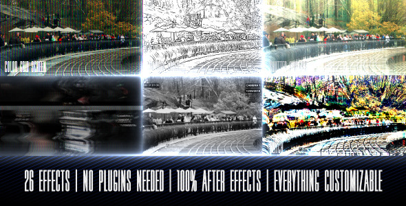 After Effects Project - VideoHive Multi Overlay Effects Tool 3285549