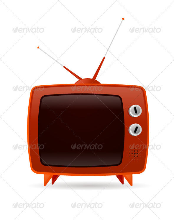 GraphicRiver Retro TV 3285553