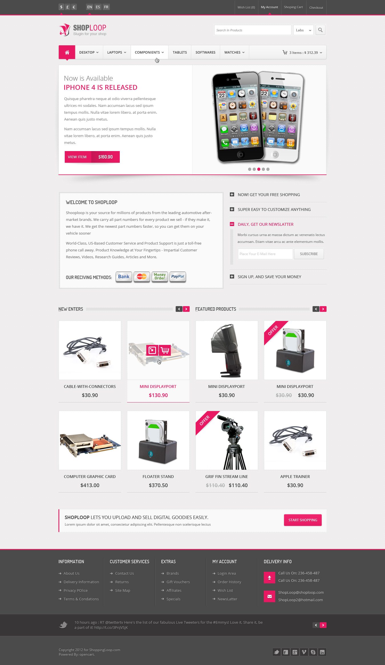Fine 1 Page Proposal Template Small 1 Year Experience Resume Format For Java Developer Rectangular 1 Year Experience Resume Format Free Download 12 Page Booklet Template Young 2013 Calendar Templates Purple24 Hour Calendar Template Shoploop: Responsive Html5 ECommerce Template By Ahmedchan ..