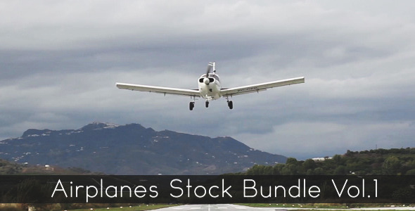 Airplanes Stock Bundle Vol.1