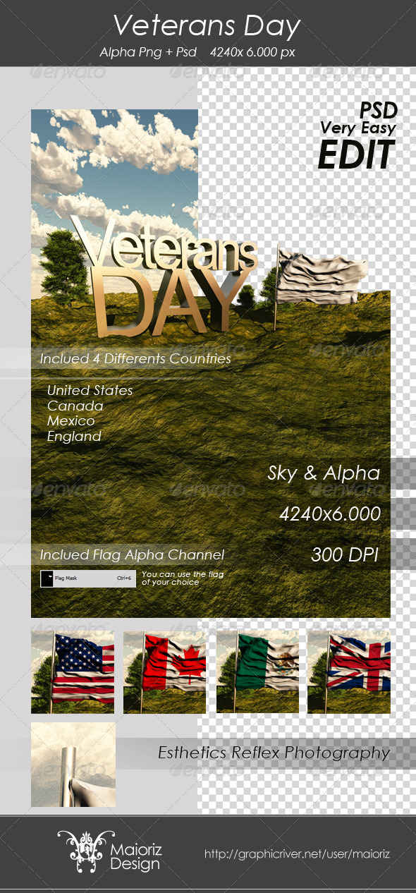 GraphicRiver Veterans Day Edit Image 3285837