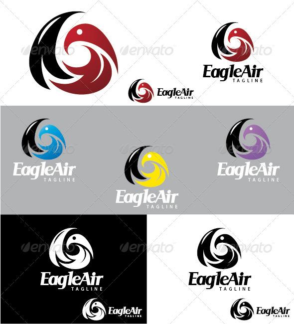 GraphicRiver EagleAir Logo 3286084
