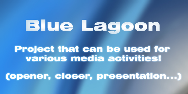 After Effects Project - VideoHive Blue Lagoon 115943