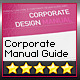 Corporate Design Manual Guide DIN A4 // 28 Pages - GraphicRiver Item for Sale