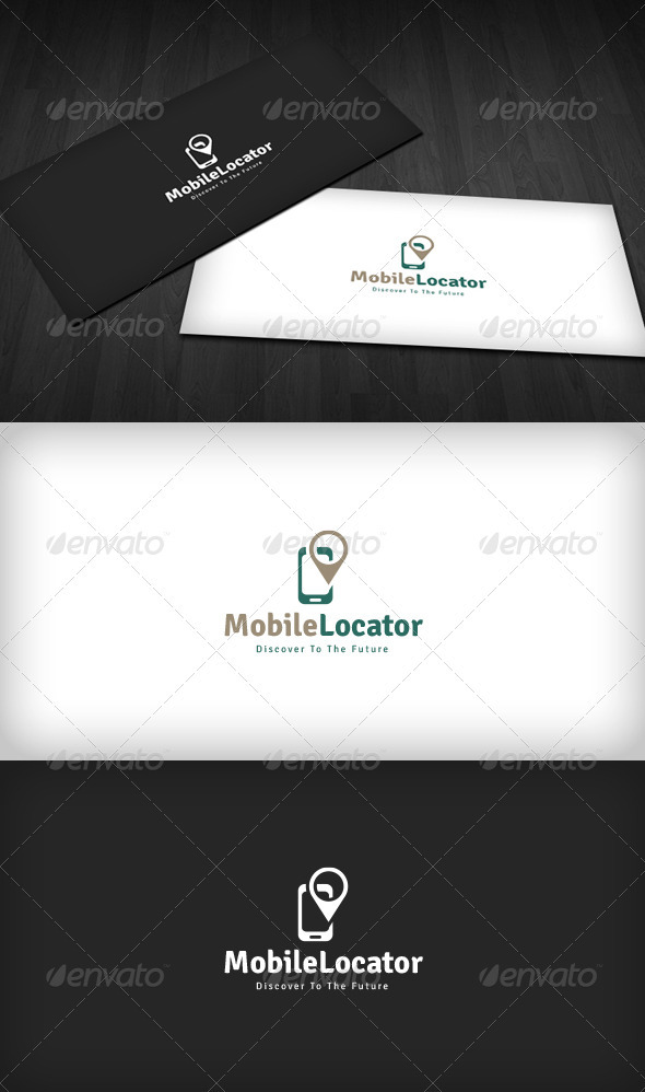GraphicRiver Mobile Locator Logo 3286141
