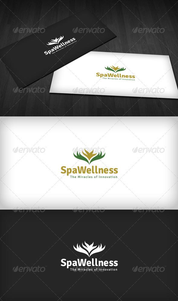 GraphicRiver Spa Wellness Logo 3286179