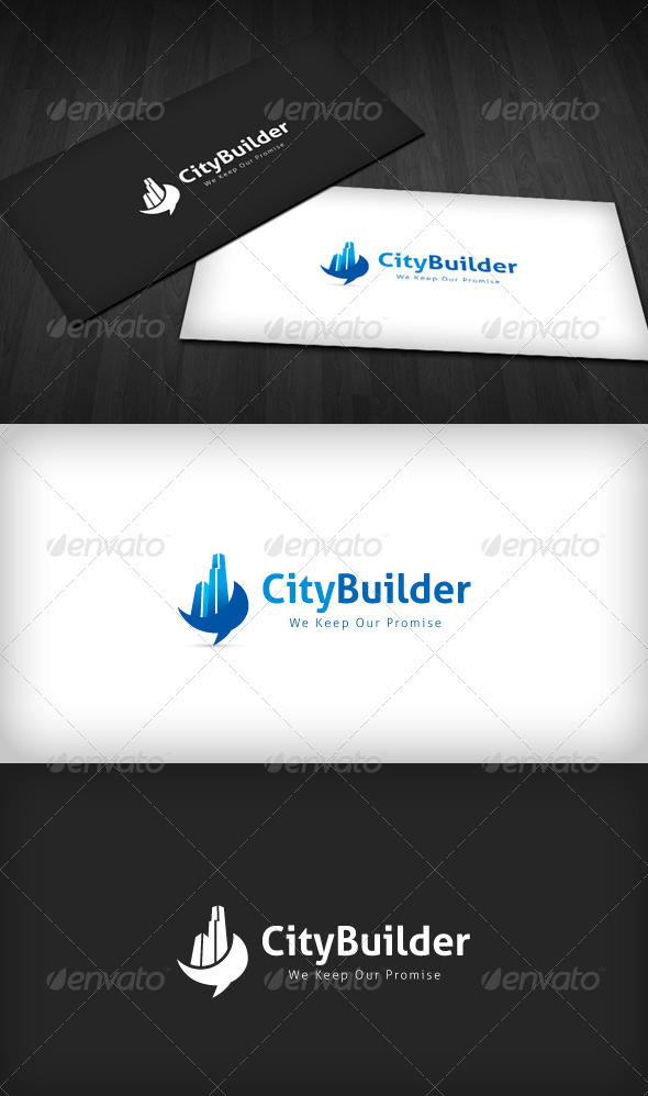 GraphicRiver City Builder Logo 3286211