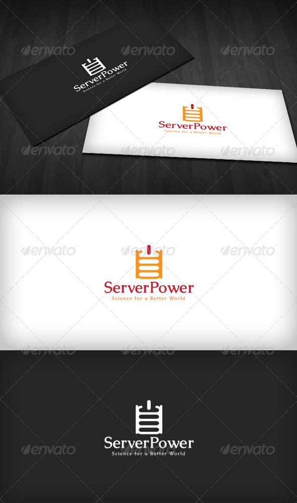 GraphicRiver Server Power Logo 3286252
