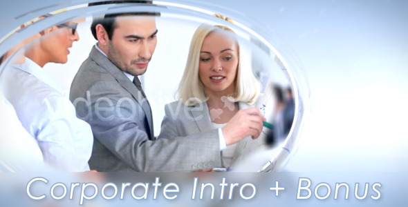 After Effects Project - VideoHive Corporate Intro & Bonus 3286326