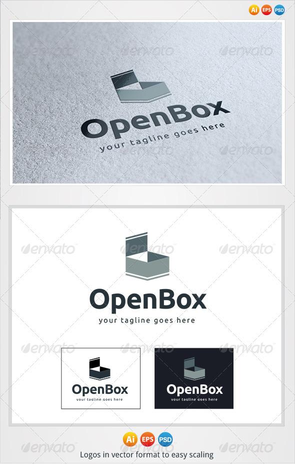 GraphicRiver Open Box Logo 3276092