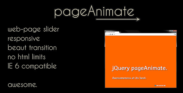 CodeCanyon pageAnimate Web-Page Slider 3286908